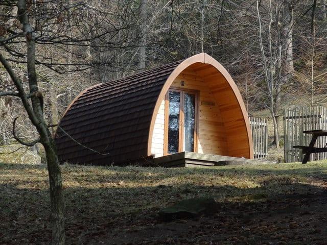 Beautiful Woodland Glamping Pod