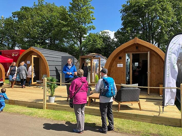 Day in the life: Glampitect Designers at The Glamping Show