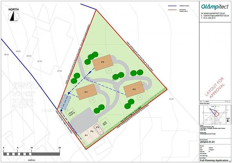 glamping planning permission