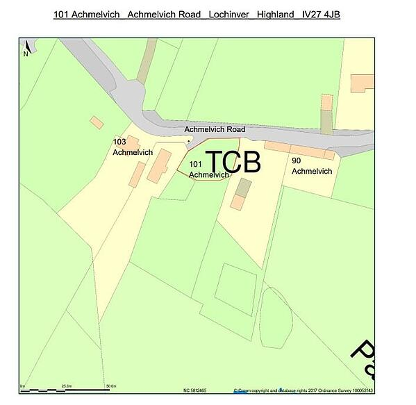 Image of location plan essential for essentials for Glamping Site planning permission