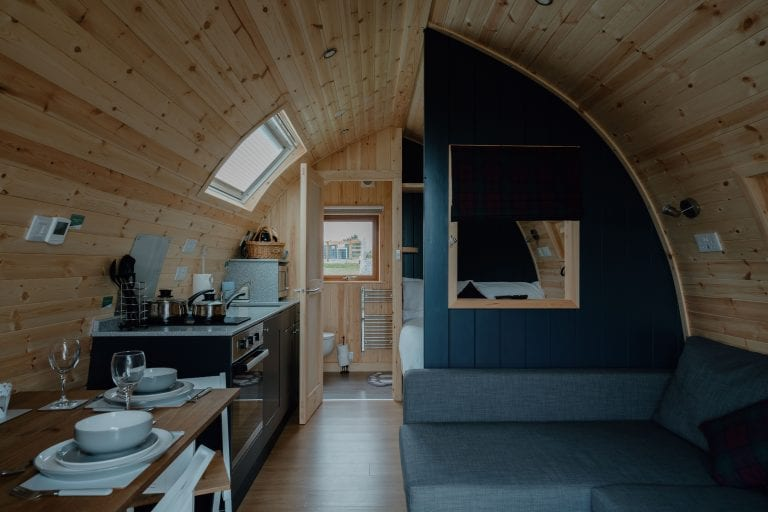 Pod Interior Design Starting a Glamping Business