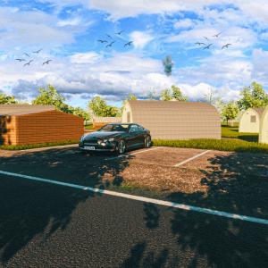 Glampitect Visual Glamping Pods Site Design