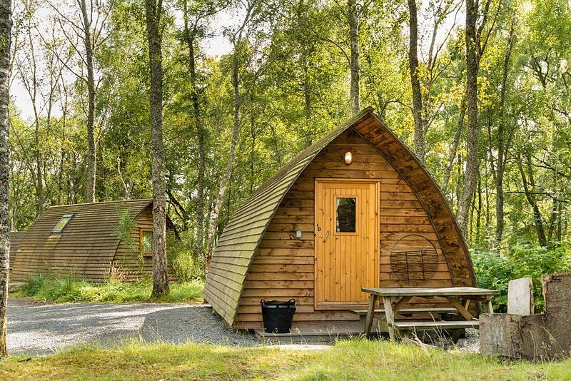 Glamping Pods site in scenic woodland area. Starting a glamping business